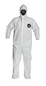 Macacão Químico Dupont Proshield 50 Nb127s Xg Branco - Ca 38648
