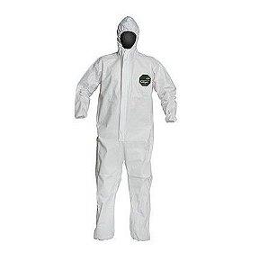 Macacão Químico Dupont Proshield 50 Nb127s G Branco - Ca 38648