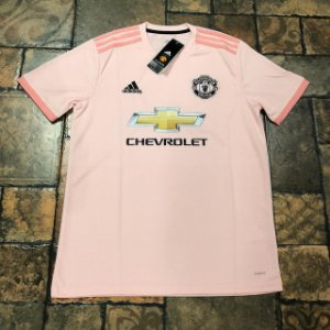 Camisa Manchester United Away 2018 s n° - Torcedor Adidas Masculina - Rosê 8c3c3e70bf8af