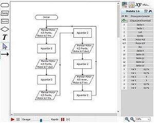 """Software para Robótica Algorito """"Versão Comercial"""" - (para uso com controlador Uno não incluso)"""