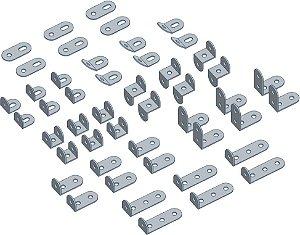 Kit Conectores metálicos