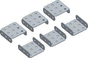 Conjunto Plataforma U 5C-X3 (1x3x1)