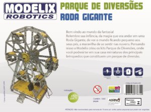 Kit Projeto Roda Gigante com Motor Programável