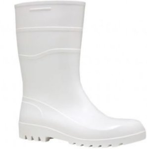 Bota de PVC Impermeável Branca - C.A 38200