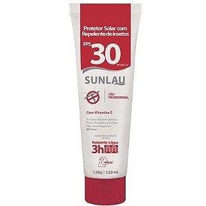 Protetor Solar FPS 30 com repelente bisnaga 120 ml