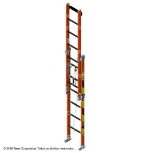 EE/PR-15/14 - Escada de fibra extensivel Oblongo 13,84 metros