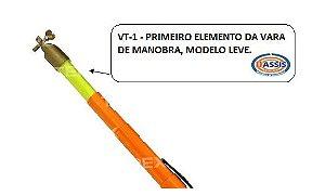 VT-1 - Primeiro elemento da vara telescópica leve