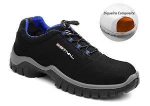 Sapato de Seg. Ener EN10023S2 - PRETO/AZUL CA 42554