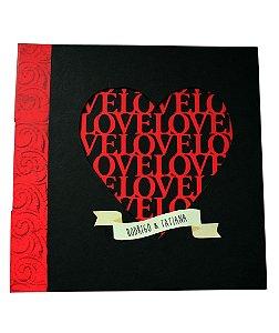 Álbum Love - COSTURA LONGSTITCH