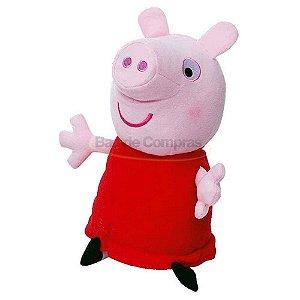 Boneco De Pelúcia Peppa Pig Antialérgica - Original Estrela