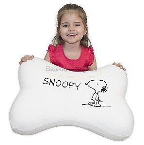 Almofada De Osso Snoopy E Charlie Brown Peanuts Antialérgico