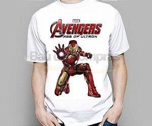 Camiseta Infantil Marvel Vingadores Age Of Ultron