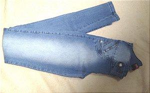 Calça Jeans Skinny Azul Claro Pérola