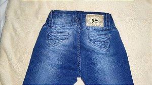 Calça Jeans Mc2 Azul Botões Dourados