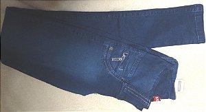 Calça Jeans Azul Mc2 Escuro com Ziper