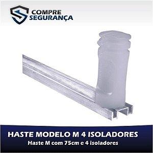 HASTE M PARA CERCA ELÉTRICA 75 CM COM 4 ISOLADORES