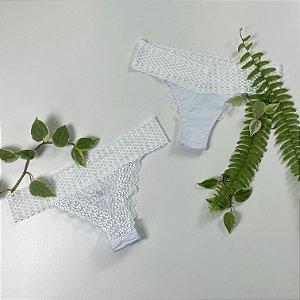 Calcinha De Cheiro Modal - Branco