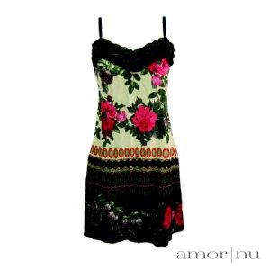 Minicoleção Amor Nu: Slip Dress Leve Amor