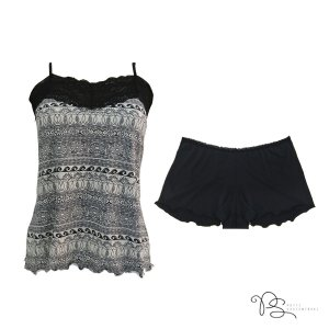 Short Doll Mandala Black / Preto