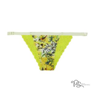 Calcinha Baiana de Fluity Yellow Birds  / Siciliano