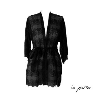 Minicoleção In Pulso: Kimono Renda Preto