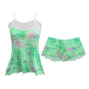 Primavera Potti : Short Doll de Fluity Green Flow / angel