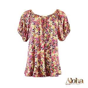 Mini Coleção Aloha : Vestido Potti de Fluity Abacaxi
