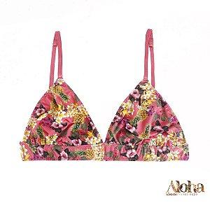 Mini Coleção Aloha : Sutiã Brownie Fluity Abacaxi