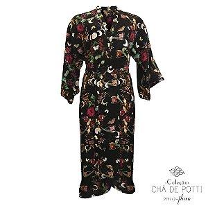 Coleção Chá de Potti 2019 : Kimono Gaia - Crepusculo