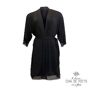 Coleção Chá de Potti 2019 : Kimono Core - Fluity Preto
