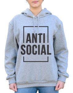 Moletom Unissex Anti Social