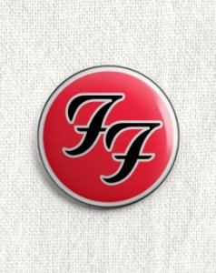 Boton Foo Fighters