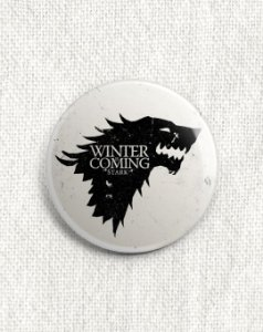 Boton Game of Thrones - Casa Stark
