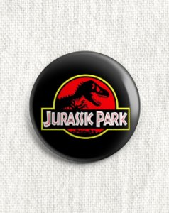 Boton Jurassic Park