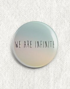 Boton We are Infinite