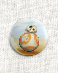 Boton Star Wars - BB8