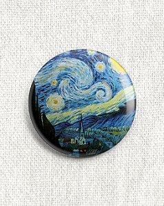 Boton Van Gogh - Noite Estrelada