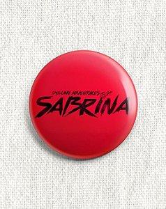 Boton O Mundo Sombrio de Sabrina