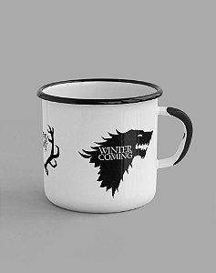 Caneca Esmaltada - Game of Thrones