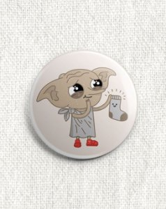 Boton Harry Potter - Dobby