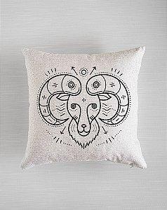 Capa de Almofada Zodíaco - Aries