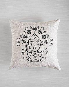 Capa de Almofada Zodíaco - Virgem