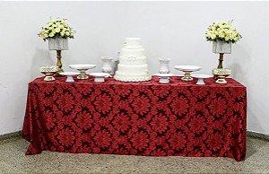Toalha para mesa de Buffet em Jacquard 4 m