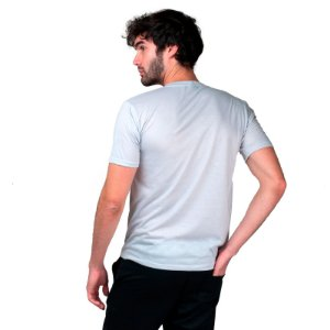 Camiseta Masculina Dry Fit Part.B Cinza