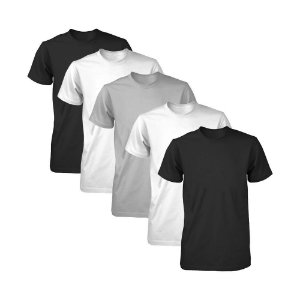 Kit com 5 Camisetas Masculina Dry Fit Part.B Light