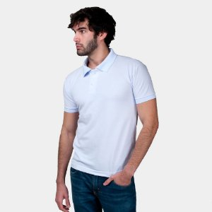 Camisa Polo Part.B Regular Piquet Branca
