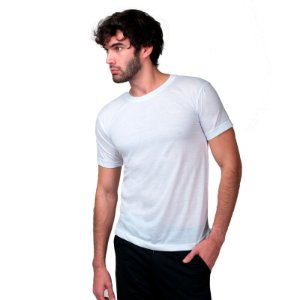 Camiseta Fit Básica Part.B Masculina Branca