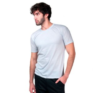 Camiseta Fit Básica Part.B Masculina Cinza