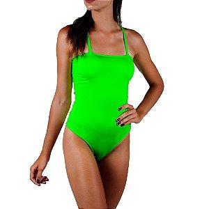 Body Neon Verão Total Verde Com Bojo