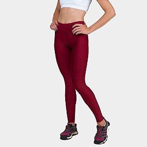 Calça Legging Básica Suplex Vermelha